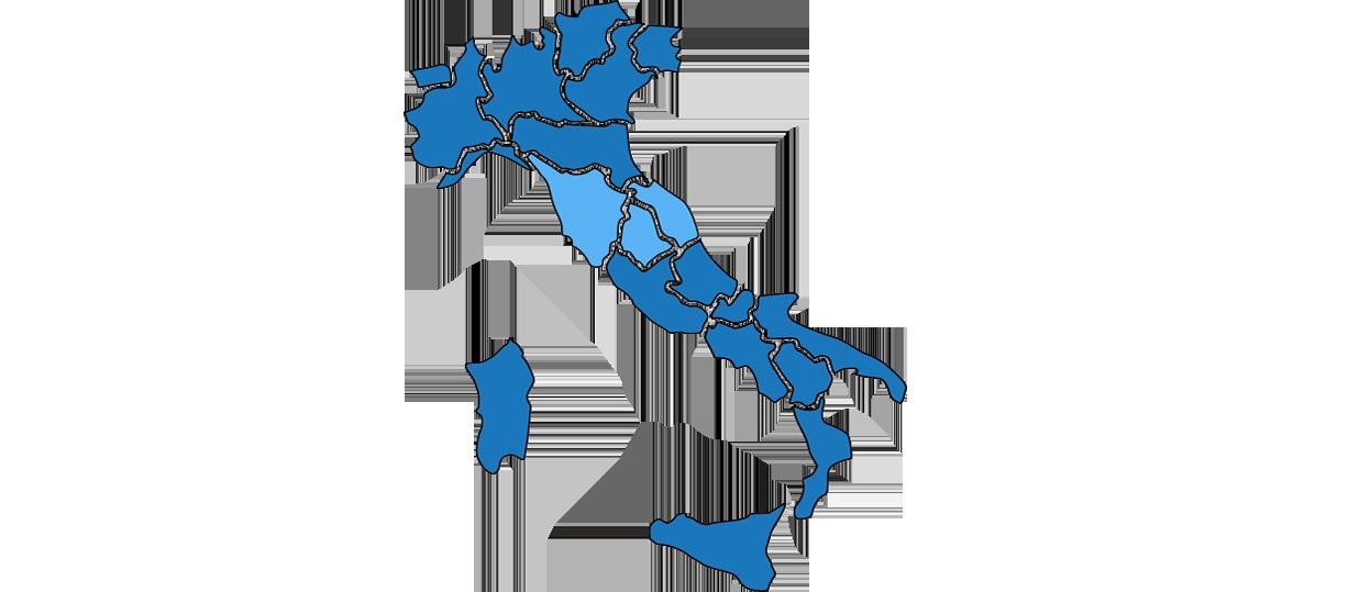 L'Italia di mezzo che si trasforma